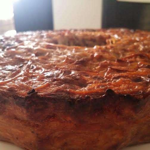 פשטידת אטריות מתוקה עם גבינות (קיגלה)