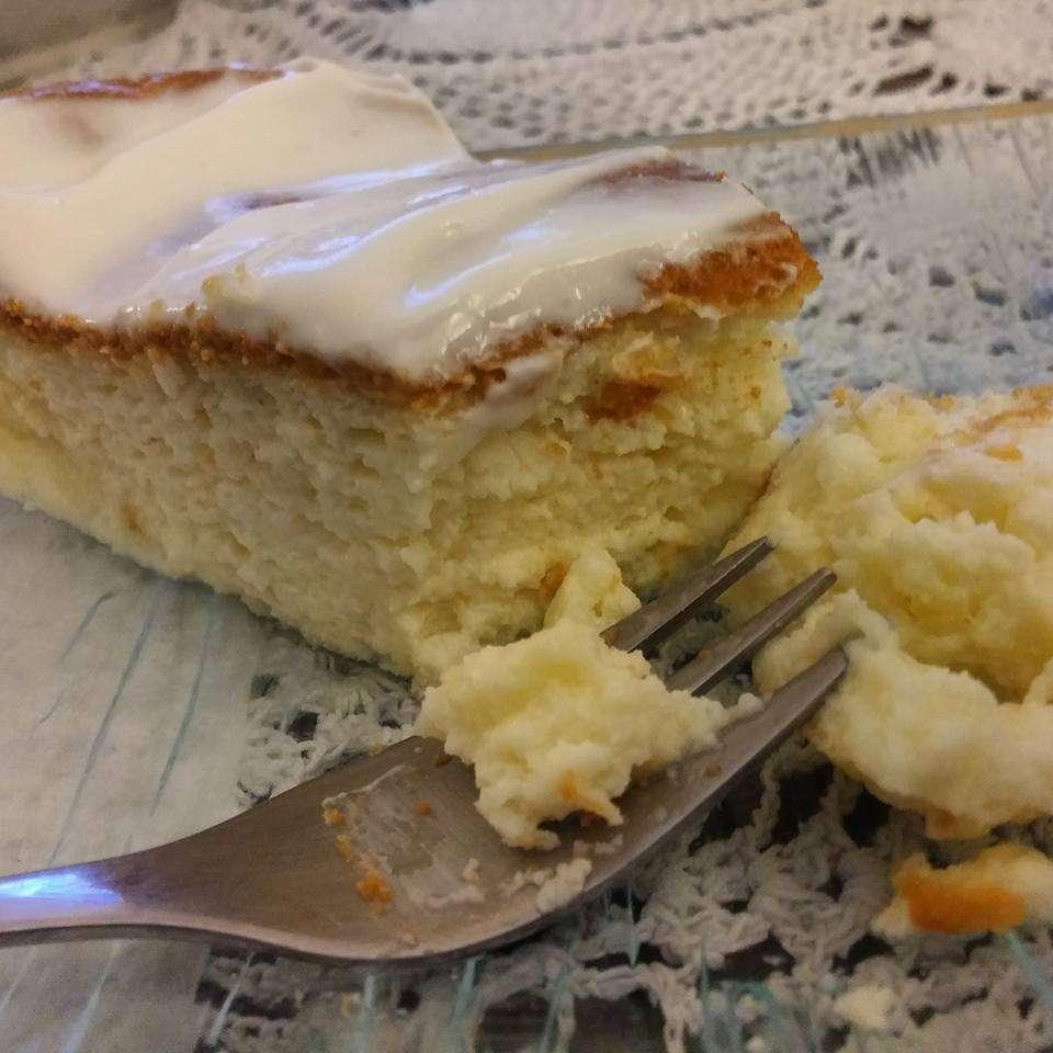 עוגת גבינה אפויה בטעם של פעם ללא  גלוטן.