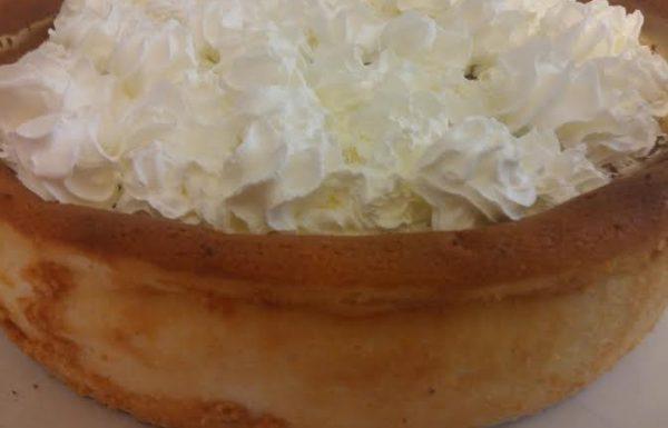 עוגת גבינה מופלאה נסיכת השבועות שלי