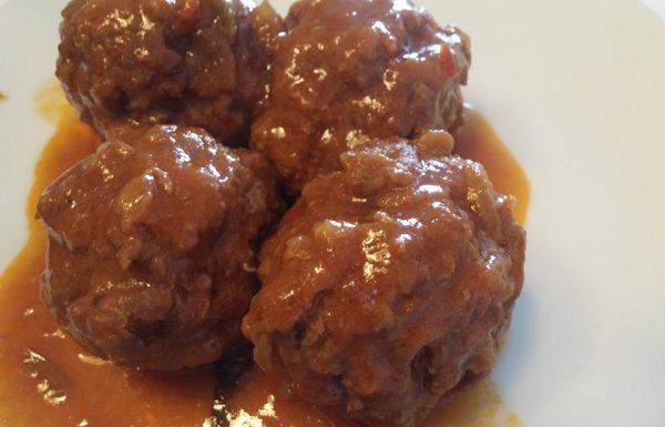 כדורי בשר ברוטב חמוץ מתוק מתכון מעולה לילדים ומבוגרים