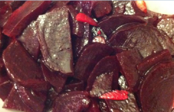 סלט סלק אדום בטעם לימוני מרענן