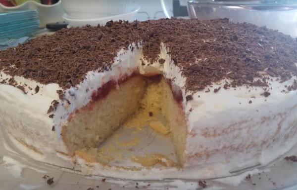 עוגת סברינה של פעם רטובה ונימוחה