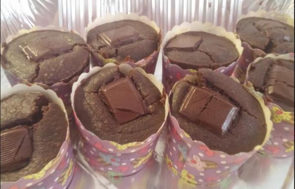מאפינס שוקולד פאדג' טבעוני משובח