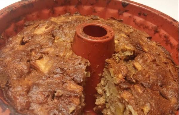עוגת תפוחים ותבלינים משובחת