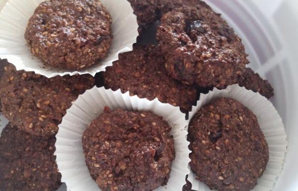 עוגיות שיבולת שועל קריספיות עתירות בריאות